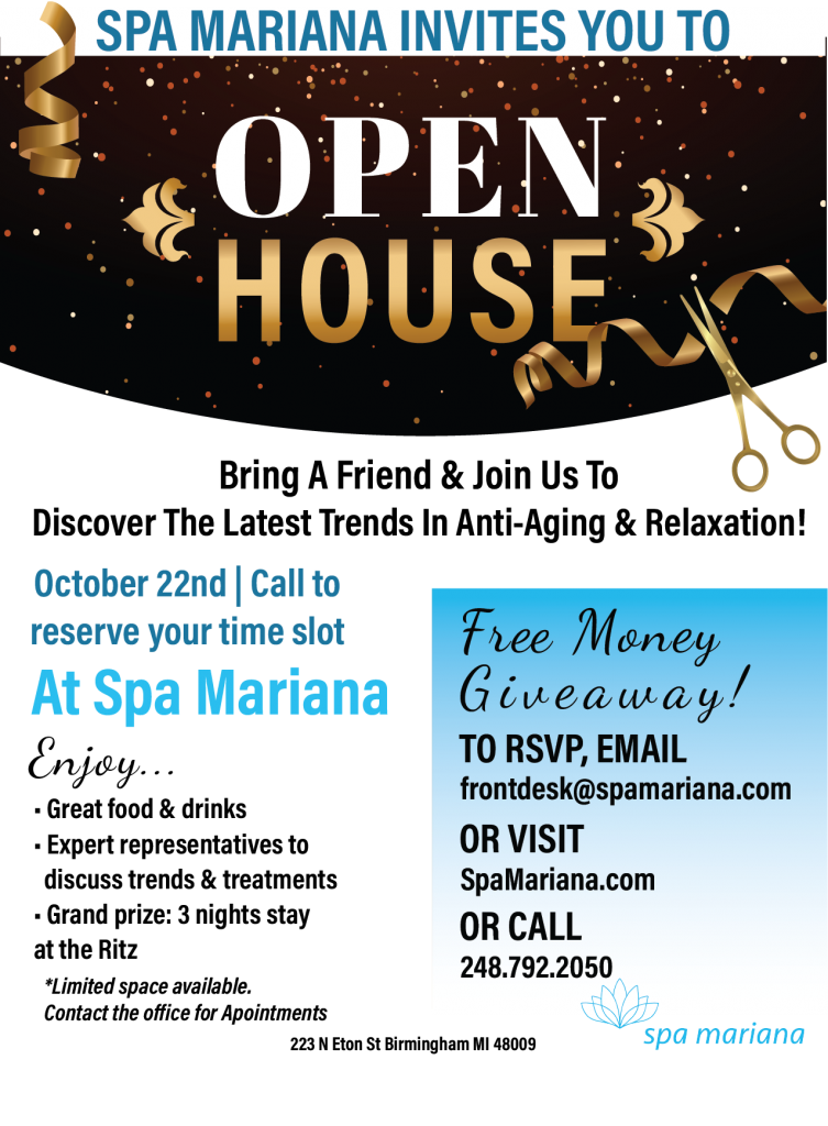 Spa Mariana Open House Event